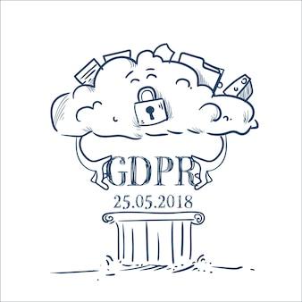 Data cloud over pillar