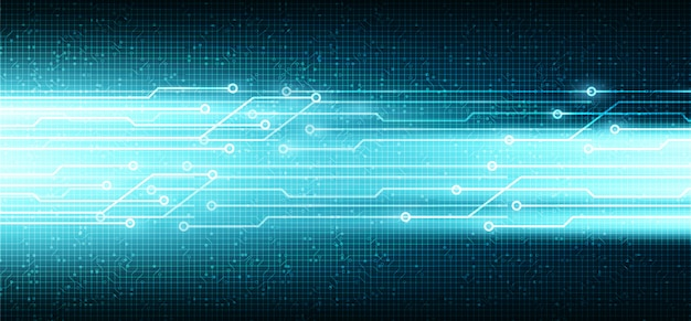 Data digital network technology background