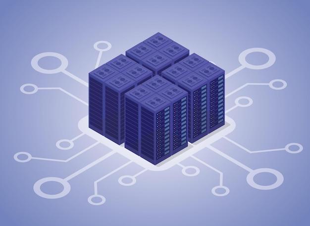 データホスティングサーバー