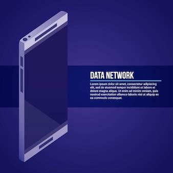 Data network illustration