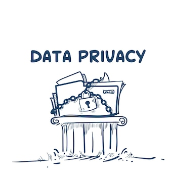 Data privacy on chain pillar