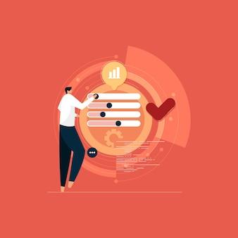 데이터 과학 및 인공 지능 데이터 사이언티스트 기회 메트릭 완전하고 빠른 비즈니스 데이터 설문조사