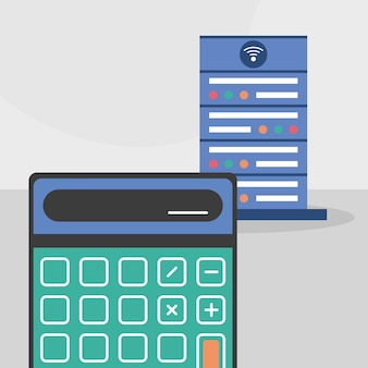 Data server calculator