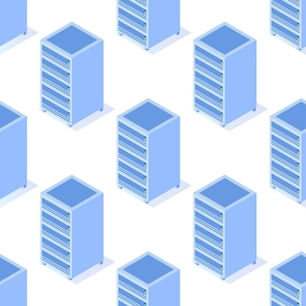 データサーバーのシームレスなパターン。