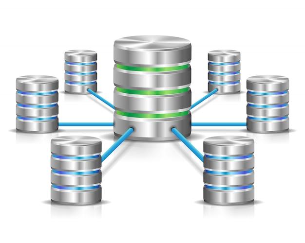 Сеть базы данных