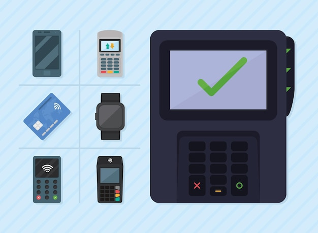 데이터 폰 및 스마트 기기 세트
