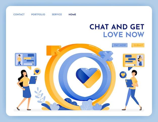 매치 파트너 찾기를위한 데이트 앱
