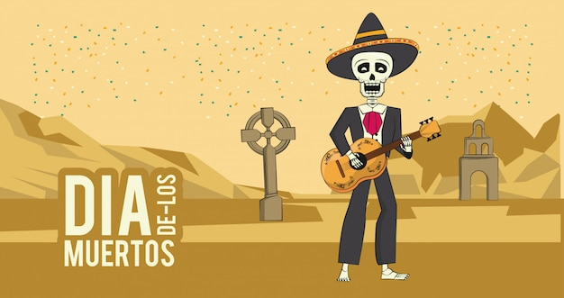 Day of the dead banner