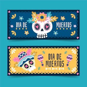 Banner del giorno dei morti