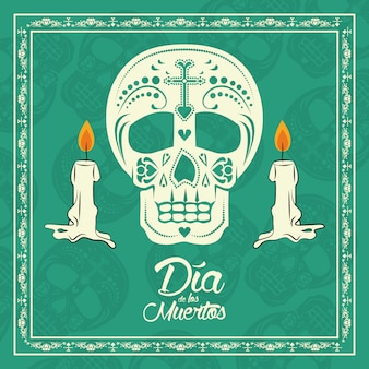 Day of the dead card