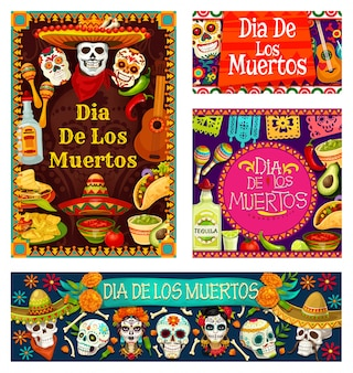 Day of dead in mexico, dia de los muertos holiday