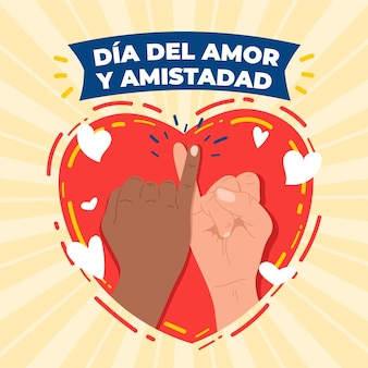 Day of love and friendship event