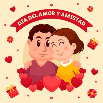 Day of love and friendship