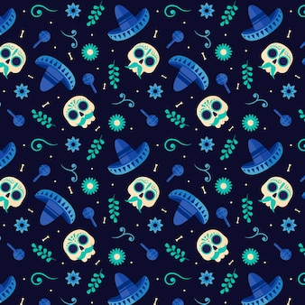 데드 패턴 플랫 디자인의 날