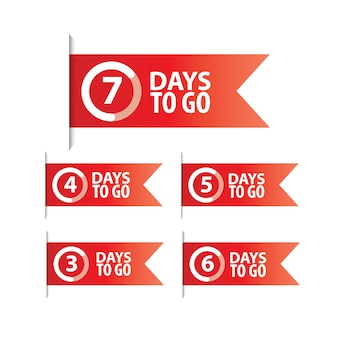 Days to go countdown time