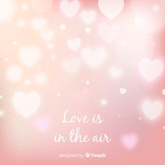 Dazzling valentine's day background
