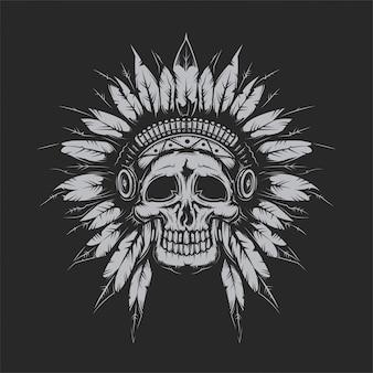 Dead chief skull