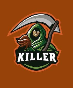 Dead killer e sports logo