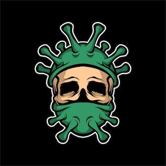 Dead ninja corona virus