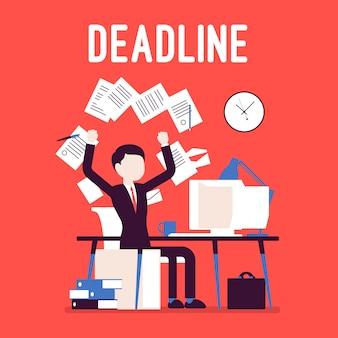 Deadline in paper work