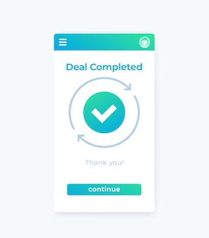 Deal completed