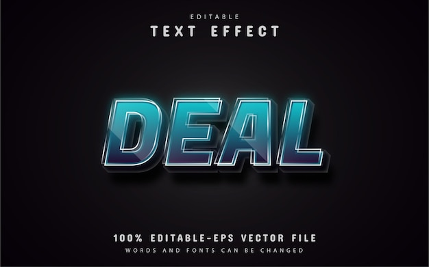 Deal text effects