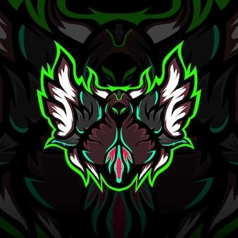 Логотип талисмана death esport