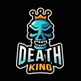 Логотип death king esport