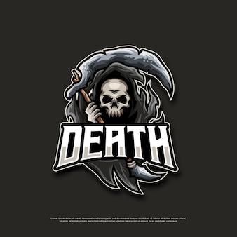 Death mascot logo design