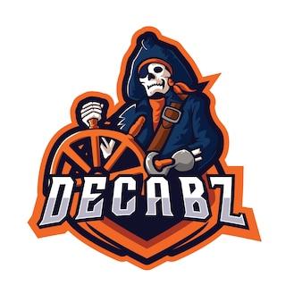 Decabz e sports logo