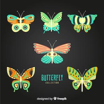 장식 된 나비 팩