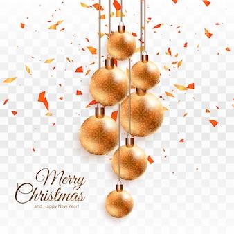 Decoration christmas baubles