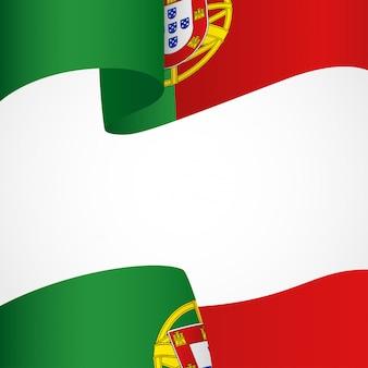 Decoration of portugal flag