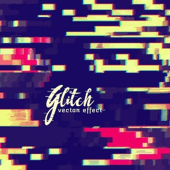 Decorative abstract background, glitch effect