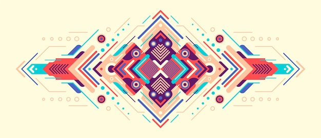 Decorative abstract illustration.