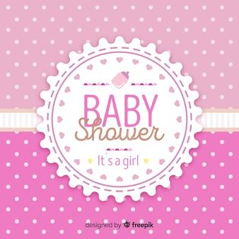 Decorative baby shower concept