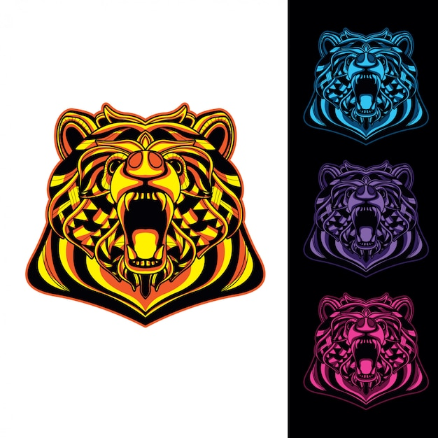 Decorative bear set glow in the dark