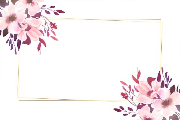 Decorative beautiful flowers background