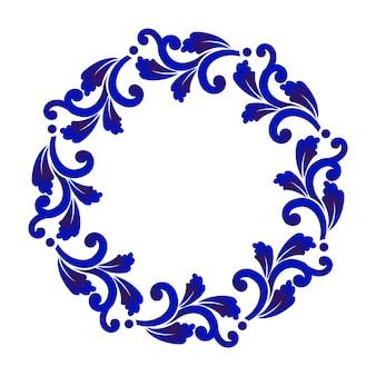 飾り枠丸枠
