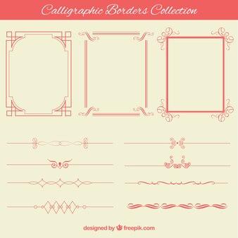 Decorative borders collection