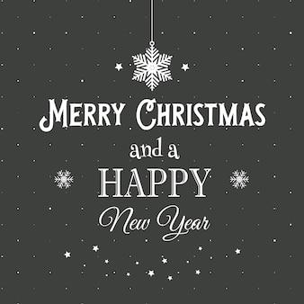 Decorative Christmas text background