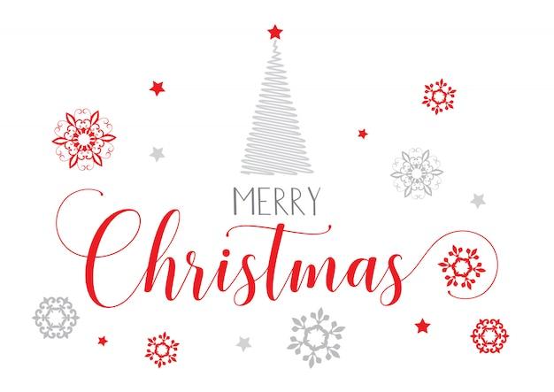 Декоративный рождественский текст