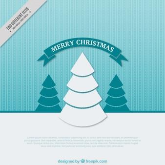 장식 크리스마스 트리 배경