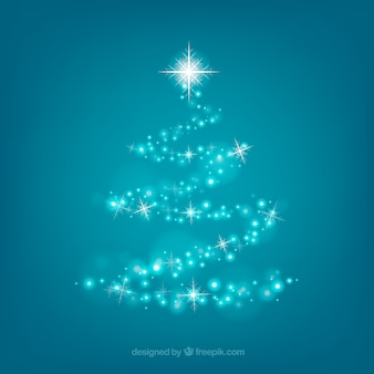 Decorative christmas tree background
