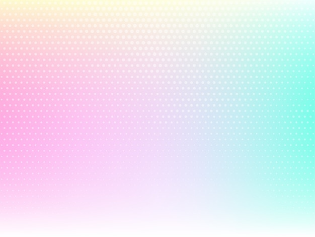 Decorative colorful background with halftone design