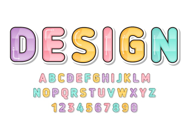 장식 화려한 글꼴 및 알파벳