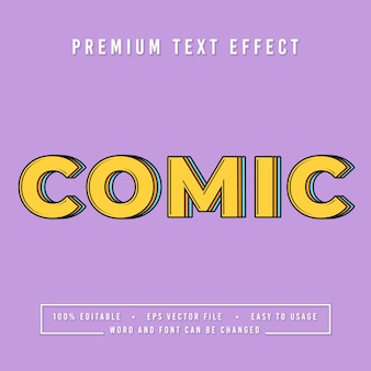 Decorative comic font