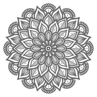 Decorative concept ornamental mandala illustration for abstract and decoration