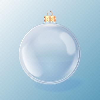 Decorative crystal christmas ball