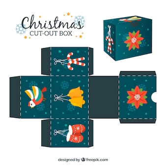 Decorative cut-out box